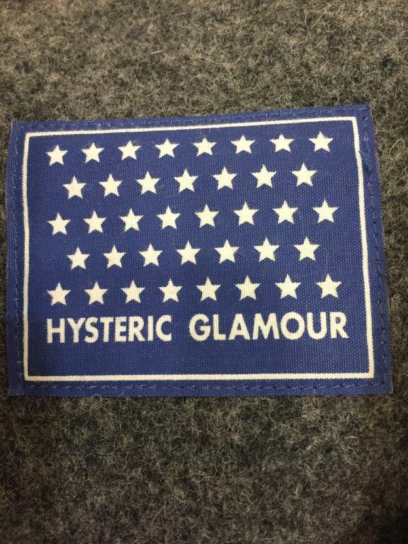 HYSTERIC GLAMOUR ウールダッフルコート (F) GRY
