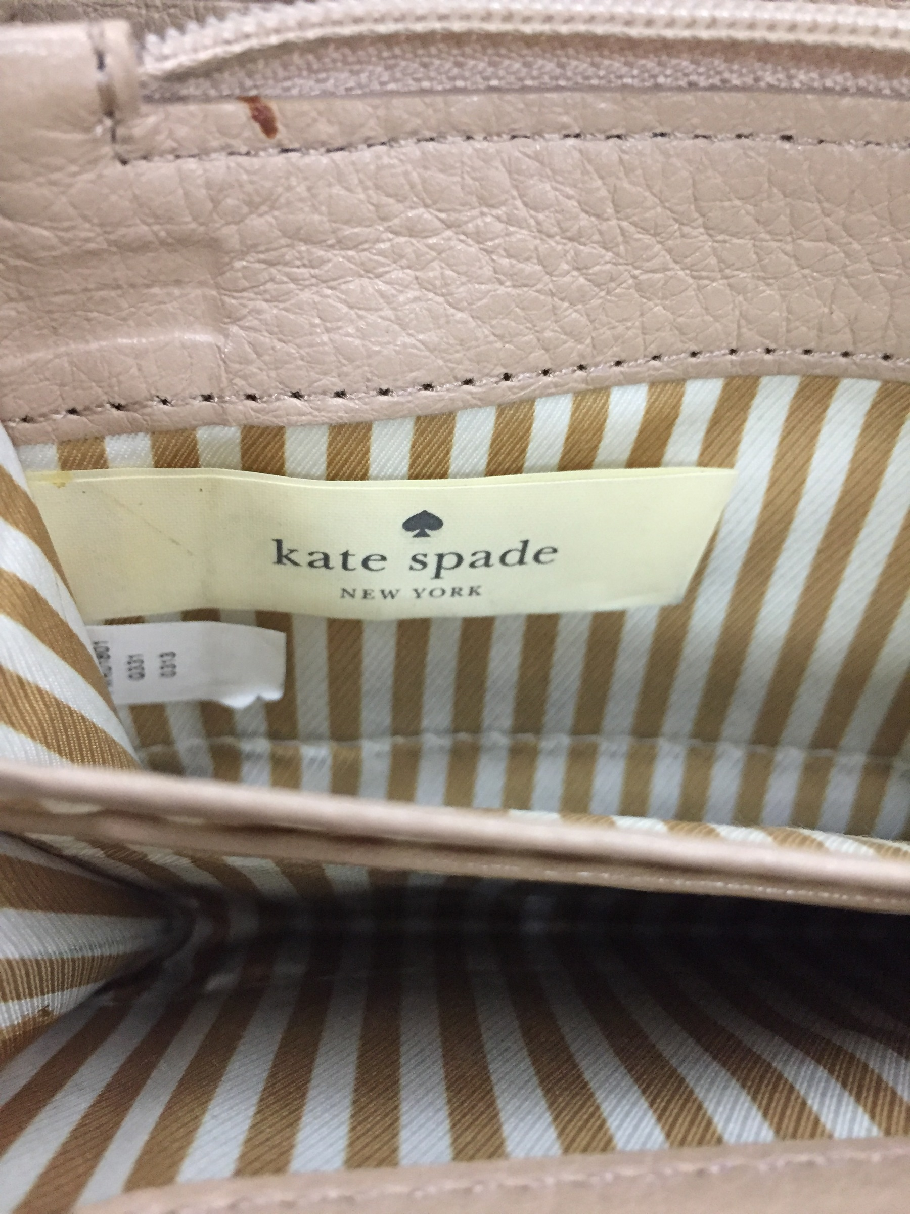 kate spade new york レザーロングウォレット